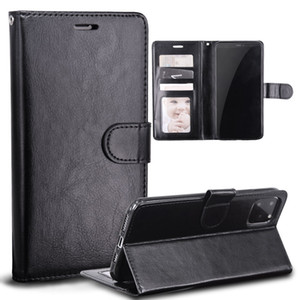Cassa del cuoio del telefono per iPhone Pro 11 MAX XS XR X 8 7 Plus Retro basamento di vibrazione Portafoglio Photo Frame Samsung Copertura note10