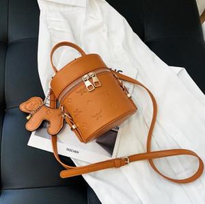 Малый Ковш сумка Женщины Круглые мешки плеча PU самая лучшая продавая Crossbody новый элемент высокого качества