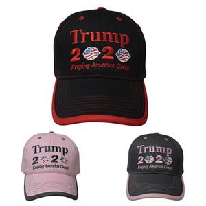 Nouveaux styles Femmes Trump 2020 Baseball Cap présidentielle Trump Chapeaux Keeping America Grande campagne électorale Chapeau ZZA2124