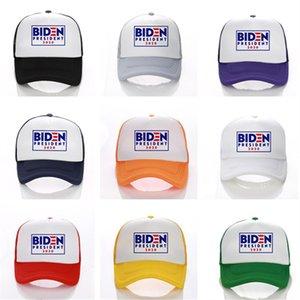 Унисекс BIDEN президент 2020 Baseball Cap Casquette Письмо Печать Mesh Hat Summer козырек шапка Спорт на открытом воздухе шапка США Выборы Cap Snapback