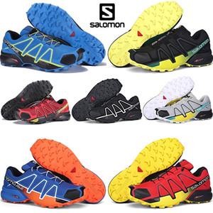 2020 Cross Trainer Salomon Speed SPEEDCROSS PRO Escrime Chaussures de course Triple Noir Bleu Athletic Designer de sport Chaussures de sport pour hommes Formateurs