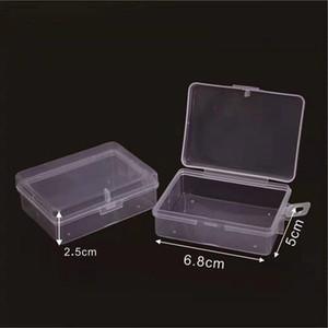 6.8*5*2.5cm Universal Small Packaging Storage Box Plastic Fishing Bait Box