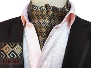 2020 자 넥타이 웨딩 스카프 그라바타 Cortabata Hombre 핫 페이즐리 Ascot 넥타이 넥타이 남자 페이즐리 물방울 무늬 목 넥타 자카드 직물 스카프