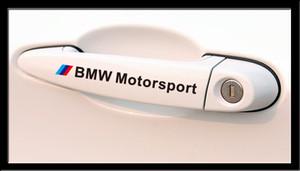 Maniglia M Motorsport Adesivi Car Sticker Badge Adesivi per Bmw M3 M5 E34 E36 E60 E90 E46 E92 BMW E39 auto X3 X5 X1 X6 styling di trasporto