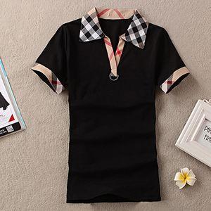 Para mujer Inglaterra Diseñador Camisas Marca de Verano Camiseta Mujer Estilo Casual Tops Camiseta de algodón de manga corta camiseta