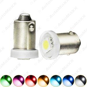 10pcs DC12V автомобиля BA9S T4W 1895 5050 1SMD 1LED светодиодные лампы автомобилей лампочки Reading Light 7-Color SKU #: 4808
