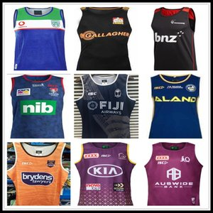 2020 de los vaqueros de los tigres de Wests Brisbane Broncos cimarrones rugbi Jersey chaleco jerseys singlete Nueva Gales del Sur blues Estado Fiji caballero anguilas