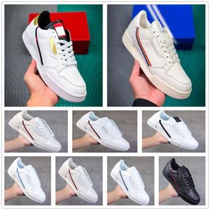 2020 슈퍼 법원 FW5325 대륙 80 카니 예 웨스트 (Kanye West) 캐주얼 신발 회색 OG 코어 블랙 배 화이트 골드 남성 여성 패션 신발 36-44
