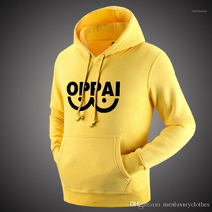 Clothing Hooded Sweatshirts Fashion Tops Pullovers oppai Cosplay Hoodies Men Teenager Boy