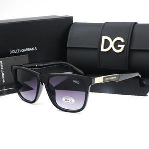 Gafas de sol de alta bisagra de metal gafas de sol Hombres Mujeres de los vidrios Gafas de sol UV400 lentes unisex