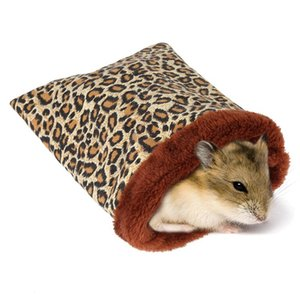 Warm Hamster Letto Casa morbido peluche Guinea Pig Bed Rat Nest Small Animals mouse Sacco a pelo Casa Accessori Gabbia per criceti
