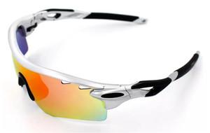 Radar qualidade superior Bloquear óculos de sol polarizados revestimento de óculos de sol para óculos de sol desportivos mulheres Homem que monta óculos Ciclismo Eyewear uv400