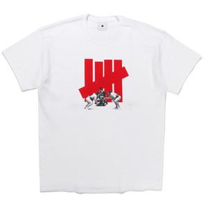 El invicto estilista camiseta invicto japonés del sumo camiseta de alta calidad del estilo de la calle T Hombres Mujeres Hip Hop manga corta M-XXL