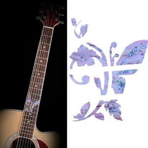 Sıcak Satış DIY Gitar klavye kakma Sticker Gitar boyun Mesnetli Fret çıkartmaları Uzay Serisi Guitarra Ukulele kakma Sticker