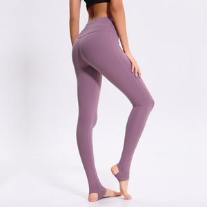 Elastic Force Close Yoga Pants Donna Stampa Dance Motion Run Step On Yoga Serve dell'opponente