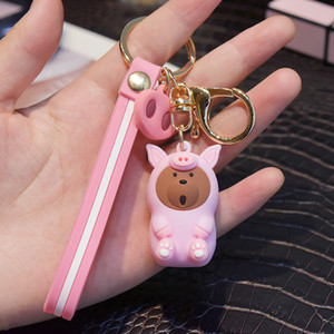 Nós ursos nuas linda boneca figuras-chaves brinquedo Urso Panda Icebear chave cosplay acessórios pingente anel de crianças presente