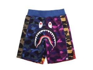 Plaj Pantolon Tide Marka Erkekler Kadınlar Gevşek Hip Hop Siyah Pantolon Şort Eşleştirme Yaz Lover Kamuflaj Renk Ücretsiz Kargo
