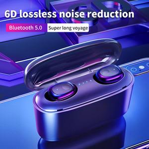 G5S TWS Беспроводные наушники Bluetooth 5,0 Звук 6D стерео наушники Mini Sport гарнитура In-Ear гарнитура с зарядным Box