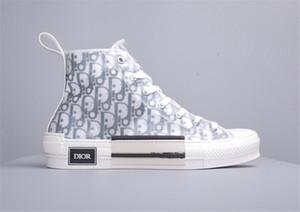 19FW B23 Косой High Low Top Sneakers марочные платформа Obliques Техническая кожа люкс Мужская обувь Женская мода Кроссовки weq9