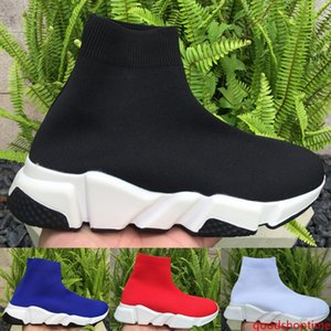 Fashion Speed Trainer High Sock Shoes for women men 2019 Balck White Prune Designer Sneakers Party Lover Boots Luxury Shoes 36-45