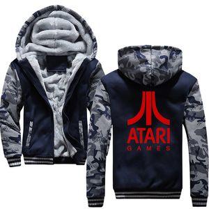 أزياء الرجال ATARI الألعاب مقنع هوديس سوياتشيرتس 2019 رجل الهيب هوب سترة ذكر مقنع البلوز الرجال معطف