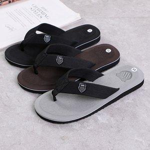 Мужские летние шлепанцы пляжные сандалии противоскользящие Повседневная обувь на плоской подошве высокое качество тапочки Zapatos Chanclas De Hombre Chaussure Homme