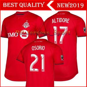 2019 MLS Toronto FC Camisetas de fútbol # 17 ALTIDORE # 10 POZUELO Toronto FC Camiseta de fútbol roja local 2019 # 4 Uniforme de fútbol BRADLEY