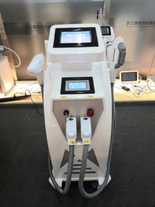 3 in 1 multi-funzione macchina del laser! utilizzati per la rimozione dei peli superflui, tatuaggio, l'acne trattamento posto macchina laser a diodi stesso effetto di 4 in 1