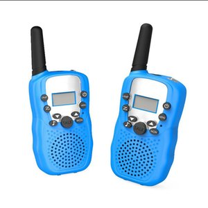 راديو الأطفال راديو talkie walkie لعبة الاطفال uhf للطريقة تتيح t-388 زوج اثنين t388 walkie الأطفال الأولاد giiuc