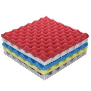 quality eco friendlywall paper soundproof Acoustic Foam Panel Sound Stop Absorption Sponge Studio KTV Soundproof wallpaper 1pc