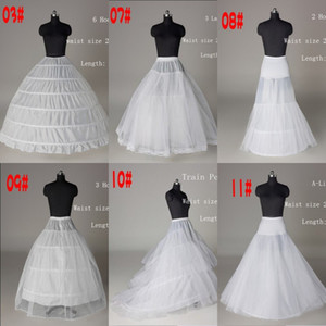 2020 Cheap Net Petticoat Ball Gown Wedding Dress Mermaid A Line Crinoline Prom Evening Dress Petticoats 6 Style Bridal Wedding Accessories