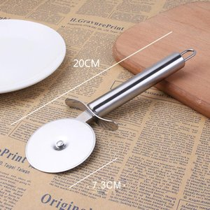 1pcs Stainless Steel Pizza Single Wheel Cut Tools practical Household Pizza Knife Cake Tools Wheel Use For Waffle Cookies NEWEST