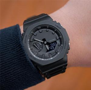 Nuovo caldo !!! Designer Shock orologi G uomini di modo 2020 Tutti Dial lavoro Royal Oak stile da polso di lusso con cinturino in gomma Dropship Bracciale