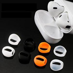 Для Airpods Супер тонкий наушник протектор Earplug Крышка случая уха Советы Earcaps Ультратонкие для воздуха стручки беспроводной Bluetooth наушники