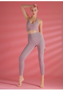 Women'S High-Waisted Colorful Yoga Pant Tights, Hips, Thin Running, Quick-Drying Nine-Point Pants, Yoga Training, Fitness Clothes