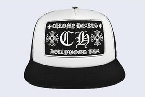 New Korean Wave Cap Brief Stickerei Bend-Fashion Cap Male Hip Hop-Reisen Visor Mesh-weiblich Kreuz Punk