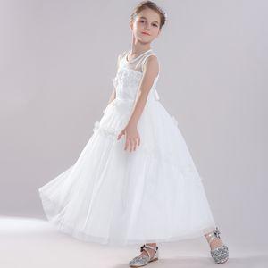 Childrens Princess Dress Childrens Clothing Summer Princess Style Girls Dress Wedding Dress Tutu Skirt