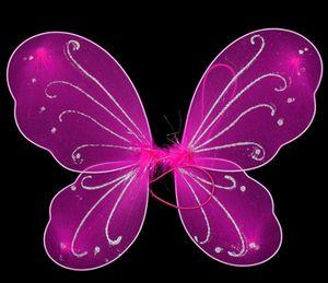 Kindermädchen Prinzessin Fairy Butterfly Wings Halloween Kostüm GB450