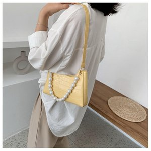 New Brand Luxury Handbags Solid Color Tote Lychee Pattern Large Bags For Women Fashion Designer Shoulder Bag Cartera Mujer