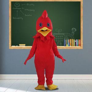 Turkey Mascot Costume Chicken Mascot Costumes Cartoon Apparel Advertisement Costumes Halloween Birthday party