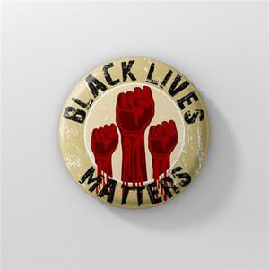 Nuovo arrivo non riesco a respirare nero Abita Matter Protesta Spilla essenziale Pins olio Button cappotto del rivestimento Collare Pin Badge Jewelry