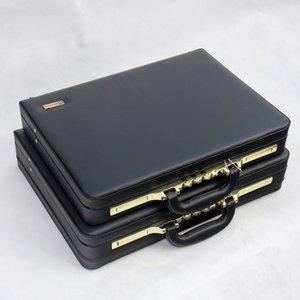 Mann-Aktenkoffer-Beutel-Qualitäts Business Messenger Bags Büro Hand 16/18 Zoll Laptop pu