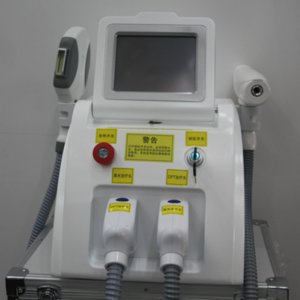 OPT IPL для удаления волос ND YAG лазера удаления татуировки машина 2 в 1-е свет постоянного удаления волос машины безболезненного углерод лечения пилинг