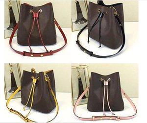 Großhandel Orignal echtes Leder Art und Weise berühmt Umhängetasche Tote Designer-Handtaschen presbyopic Einkaufstasche Geldbeutel Luxus Umhängetasche NEONOE