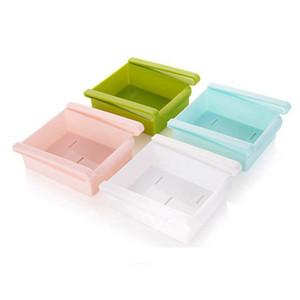 Liplasting criativa Frigorífico Caixa de armazenamento fresco Spacer Camada de armazenamento Rack Drawer fresco Spacer Classificar ferramenta da cozinha