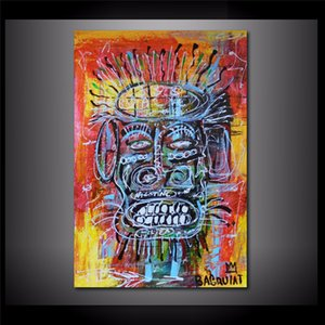 Jean Michel Basquiat NYC 1980,HD Canvas Printing New Home Decoration Art Painting (Unframed Framed)