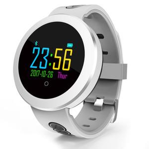 Q8 PRO Akıllı İzle IP68 Su Geçirmez Kan Prssure Kalp Hızı Monitörü Spor Izci IOS Android Saatı Için Bluetooth Akıllı Bant Izle