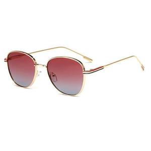 Mode Neue Männer und Frauen High-End-polarisierte Sonnenbrille Retro quadratische Sonnenbrille klassische Fahrbrille 7 Farboption High-End-Geschenk