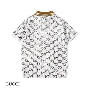 T-shirt de algodão de Moda de Nova Polo verão quente vender moda de alta qualidade T-shirt de algodão entrega gratuita MY02 atacado dos homens marca de pólo das mulheres