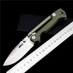 Couteau pliant AD-15 en acier froide poignée extérieure G10 D2 couteau tactique outil de poche EDC couteau de survie de camping